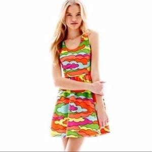 Nanette Lepore L'AMOUR Dress Neon Cloud XS
